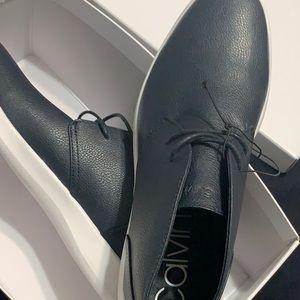 Calvin Klein Cicero  Dark Navy Men's Size 10.5